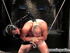 Sandra and breaks in newcomer tahiti boy, but things do not progress the way Mistress likes...