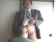 beared Japanese dad