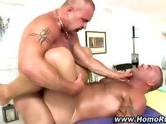 Muscular straight gay fuck