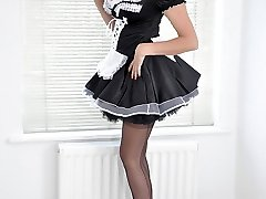 Nylon Jane will be your personal maid, but she has her own demands when it comes to what to...