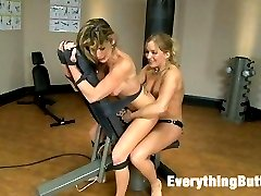 Tough girls Dia Felony are very competitive in every aspect of their lives. Sports, the gym and...