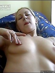 Anal beads and a hot cock for her