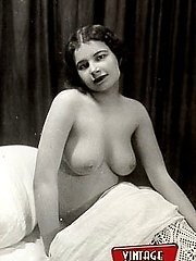 Nude posing twenties ladies
