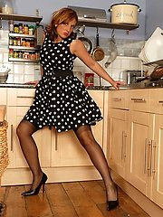You just got home from a hard day at work and your Misses Jenny had something hot prepared for...