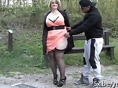 French milf Sophia sodomyzed by 2 guys