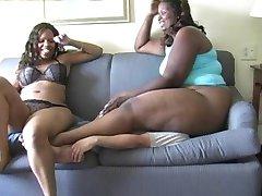 Ebony Mistress Booty smother