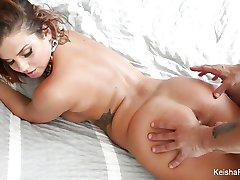 Super hot Keisha Grey teases and fucks