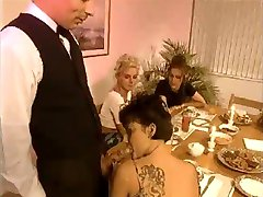 French Dinner Party Turned Orgy