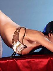 Sexy lingerie ass dance from cuties