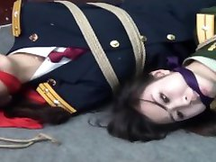 Bondage game of Chinese officers