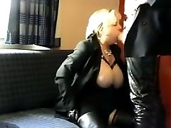 Mature Prostitute Giving A Blowjob