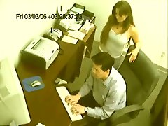 Caught On Camera - Office Relationship