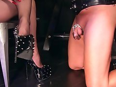 Heels worship in chatity