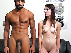 Alice Andrea in Alice Andrea First Interracial Scene - BangBros