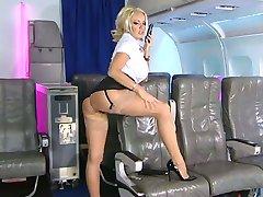 Dannii on RLC Airways