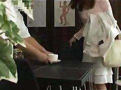 Japanese Hottie Get Massage