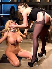 I dont know about you but there is nothing I like more than destroying a beautiful blonde...