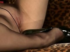 Her small dick boyfriend pleads to stay together. She shows him what his kind of dick is good for. She makes him strips and kicking him hard across the balls.
