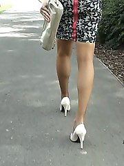 Monica is a beautiful lady at Stiletto Girl who is distinguished by the lovely high heel shoes...