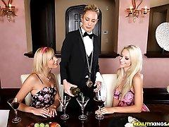 Amazing super hot fucking lesbians finger fuck the waitress babe hot pussy ass fucking lesbians