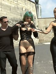 Lola is back again on Public Disgrace for more humiliation, shaming, and debauchery! Fetish Liza...