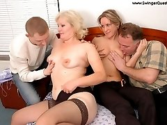 horny couples fucking and changing partnersbr
