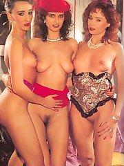 Three eighties lesbos play