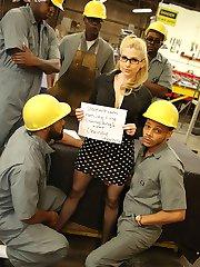 Christie Stevens Interracial Movies at Blacks On Blondes!