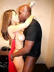 beautiful white women in interracial porn