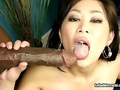 Asian Wrecked By Monstrous Black Dick