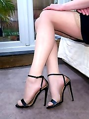 If you have a fetish for ladies heels you find that you are always looking at them because you find them so erotic and they do so much for you. As your fetish rises to the temptation of Holly\'s high heels give them your full attention and your love will be expressed in adoration and worship