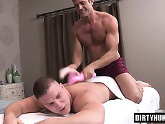 Muscle gay bareback and creampie