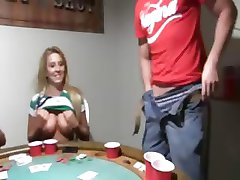 Young teenies fucking on poker night