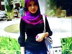 Cum tribute to a random angelic pretty hijab girl 2