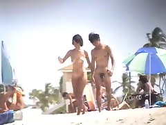 Nude Beach - Nice Tits Asian