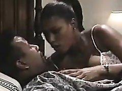 Ebony MILF Sucking On A Big Cock