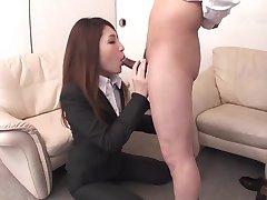Rara Mizuki Offers Holes For Office Job (Uncensored JAV)