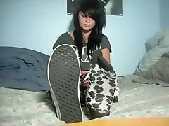 Hot emo teens feet & socks