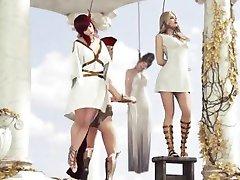 Roman girl hanged