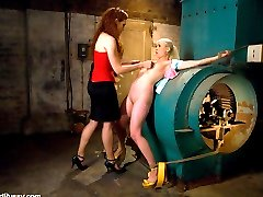 Lorelei Lee and Sabrina Fox go head to head in a game of kinky lesbian domination. Sabrina uses...