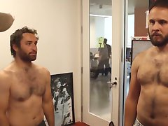 Sexy Men Strip and Watch Eachother