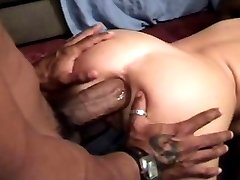 Brittany takes bbc anal