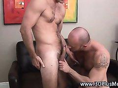Hot bear slams sexy gay ass