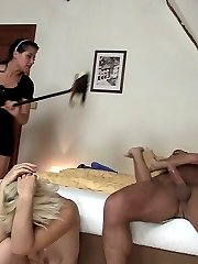 A mother-in-law039s slick slit is hammered in a variety of ways by an eager punk.