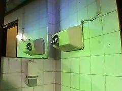 SUPERHOT public restroom
