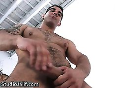 Muscled and tattooed hunk Tony Duque part3