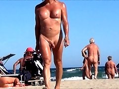 tranny in nude beach with anal jewel rosebud