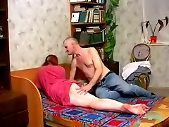 Old guy loves fucking young pussy
