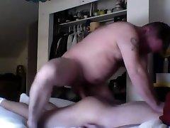 Hung White Bear Breed Thick Latino Bitch
