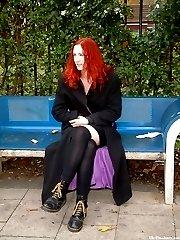 Redhead amateur masturbating